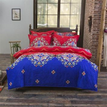 UNIKEA Bohemia Exotic Patterns Boho Bedding Mandala Duvet Cover Set Bedspread Sheet Pillowcase Single Twin Full Queen King Size