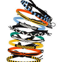 Bright Aztec Tie Up Bracelets - Mens Jewelry  - Shoes and Accessories