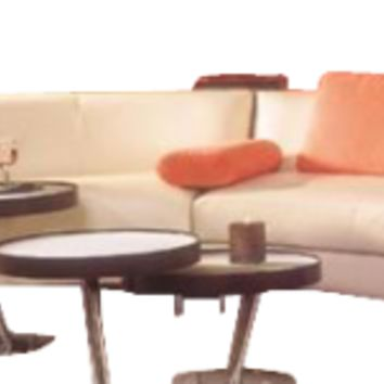 Two Piece Curved Sectional, Curved Sectional Sofa - Opulentitems.com