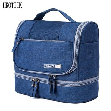 New style men and women travel cosmetic bag waterproof portable cosmetic bag multi-purpose large capacity storage toiletries bag