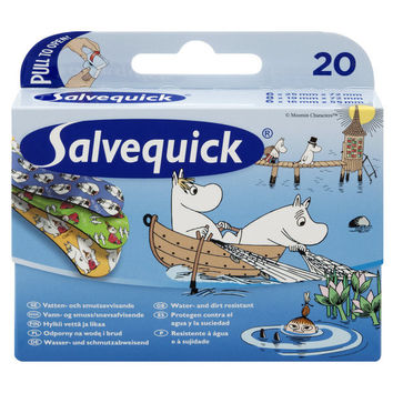 Moomin plasters by Salvequick
