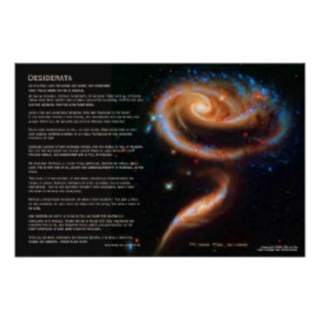 Desiderata - The Rose Galaxies, Arp 273 Print