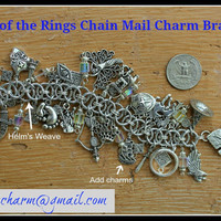 The HOBBIT Lord of the Rings Themed Chain Mail by TheLiteraryCharm