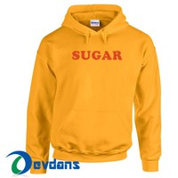 Sugar Font Hoodie Unisex Adult Size S to 3XL | Sugar Font Hoodie