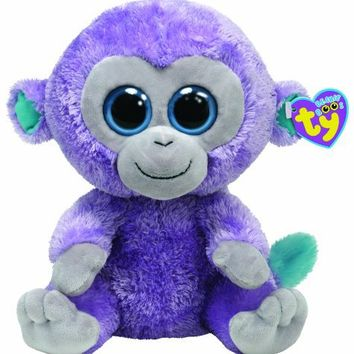 Ty Beanie Boo Buddy Blueberry Monkey