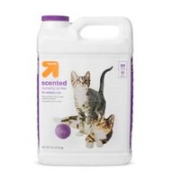 Scented Scoopable Cat Litter - 20lb - up & up™
