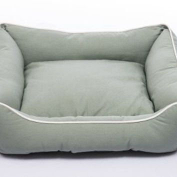 DOG BEDS & LOUNGERS - LOUNGER - ECO GREEN - MEDIUM - 22X24 - DOG GONE SMART PET PRODUCTS - UPC: 849670002644 - DEPT: DOG PRODUCTS
