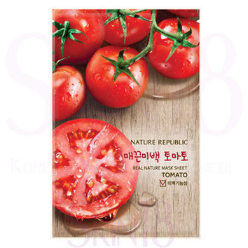Nature Republic Real Nature Mask Sheet Tomato