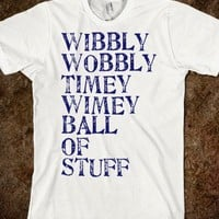 Wibbly Wobbly [Doctor Who]