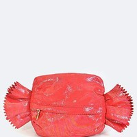 Wrapped Candy Clutch Handbag