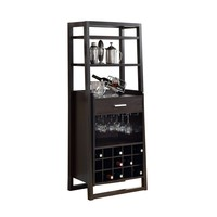 "Home Bar - 60""H / Cappuccino Ladder Style"