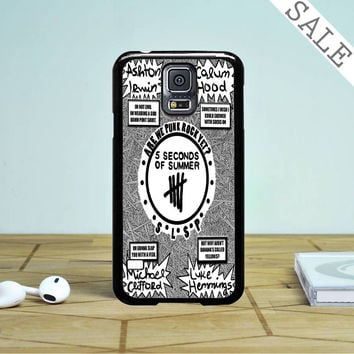 We Are Punk Rock 5 Sos Samsung Galaxy S5 Case