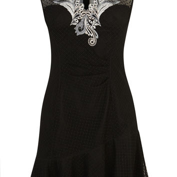 Cutwork embroidery dress | Luxury Women's shop_all | Karen Millen