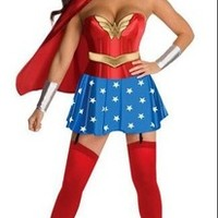 2013 new costumes dress for women cosplay adult superhero/superman outfit sexy with lingerie sexy hot sale free shipping-in Costumes from Apparel & Accessories on Aliexpress.com | Alibaba Group
