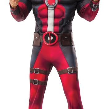 Deadpool Dlx Adult costume for Halloween