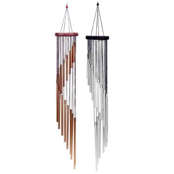 18 Tubes/27 Tubes /4 Tubes Wind Chime Yard Antique Garden Tubes Bells Outdoor Living Home Windchime Wall Hanging Home Decor