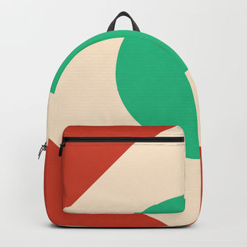 Red Peak Backpack by spaceandlines