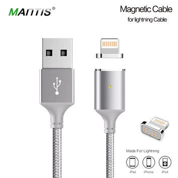 Mantis Magnetic Cable Nylon Braided for Lightning USB Cable all iphones