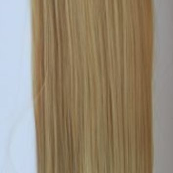"""PRETTYSHOP 24"""" 100g Hair Piece Clip In Pony Tail Extension Very LONG SEXY Straight Heat-Resisting Diverse Colors (blonde mix 27T613 HC5a)"""