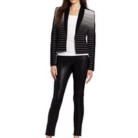 BCBGMAXAZRIA Women's Bowie Tuxedo Jacket