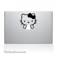 Hello Kitty Macbook Decal | Macbook Vinyl Decals | The Decal Guru