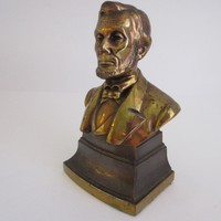 American PMC Abraham Lincoln Presidential Bust Bookend