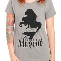 Disney The Little Mermaid Ariel Silhouette Girls T-Shirt - 300639