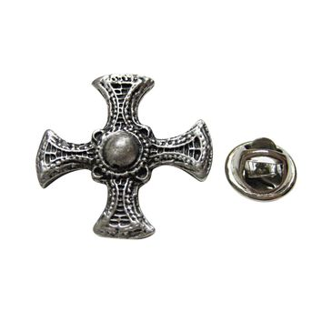 Ancient Celtic Cross Lapel Pin
