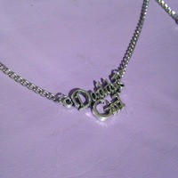 Daddy's Girl necklace from Shop Biohazard