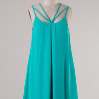 Strappy Dress - Mint