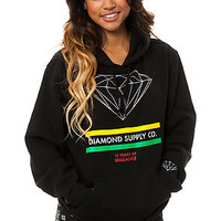 Diamond Supply Co. Hoody 15 Years of Brilliance in Black