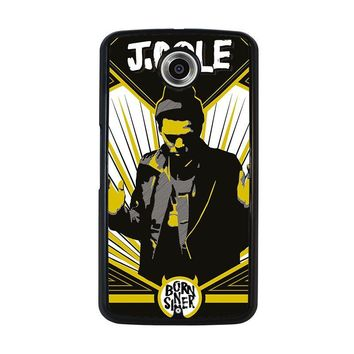 J. COLE BORN SINNER Nexus 6 Case Cover