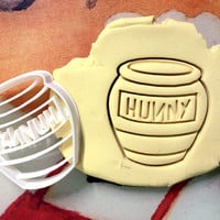 Honey Pot Winnie the Pooh Cookie Cutter - Made from Biodegradable Material