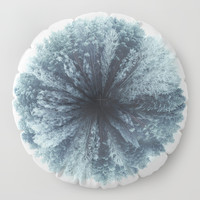 Forest world Floor Pillow by HappyMelvin