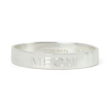 Tomboy Ring, Silver - Rings - Catbird