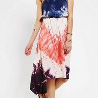 Angie Strapless Tie-Dye Dress