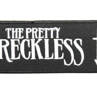 "THE PRETTY RECKLESS Embroidered Iron On Sew On Patch 4.1""/10.5cm"