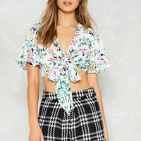 Clam Bake Floral Top