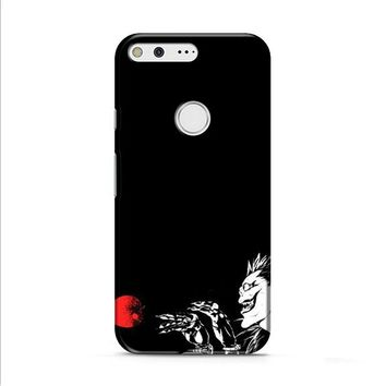 DEATH NOTE RYUK AND THE APPLE Google Pixel 2 Case