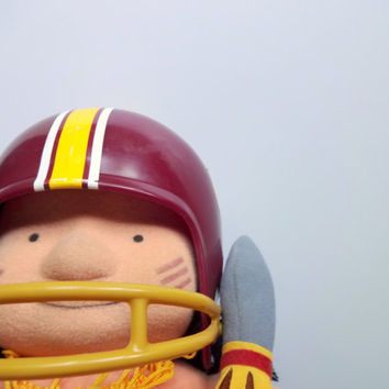 Vintage NFL Huddles Washington Redskins Doll 1983