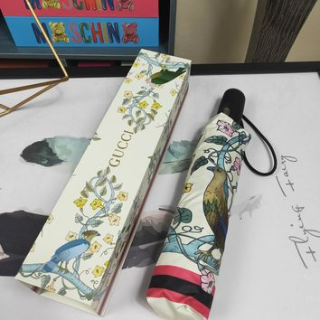 Gucci Stylish Print Folding Umbrella Style 34