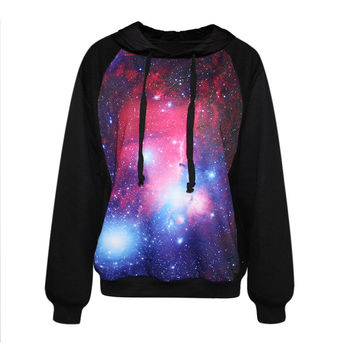 Classic Galaxy Womens Sweatshirt Hoodies