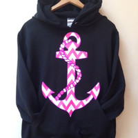 Pullover Hoodie Anchor Sweater