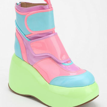 Jeffrey Campbell Echo Glow Platform Ankle Boot - Urban Outfitters