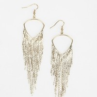 Hanging Chains Earring - Urban Outfitters