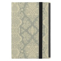 Vintage Pattern in Yellow and Gray Cover For iPad Mini