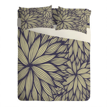 Gabi Blue Dahlia Sheet Set Lightweight