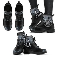 Hogwarts Boots Premium Leather