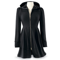 Black Orchid Jacket Dress - New Age, Spiritual Gifts, Yoga, Wicca, Gothic, Reiki, Celtic, Crystal, Tarot at Pyramid Collection