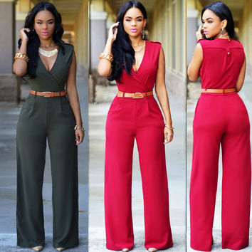 Fashion Slim Casual Jumpsuit [6259230980]